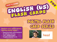WINK to LEARN English (US) Online Digital Flash Cards Series