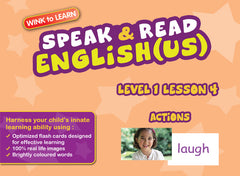 WINKtoLEARN English (US)  Learning Digital Video Streaming Series - Level  1 - Lesson 4 - Actions - Front Cover