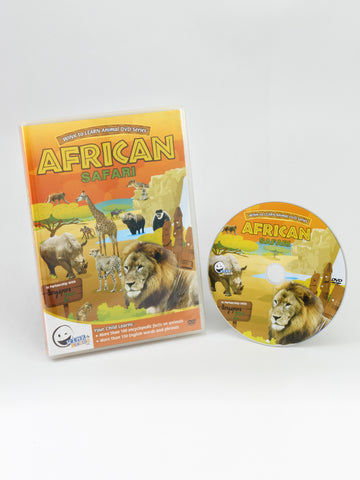 Animal Encyclopedic DVD: African Safari (English)