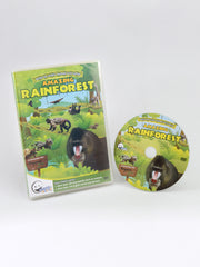 Animal Encyclopedic DVD: Amazing Rainforest (English)