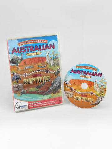 Animal Encyclopedic DVD: Australian Wildlife & Asian Reptiles (English)