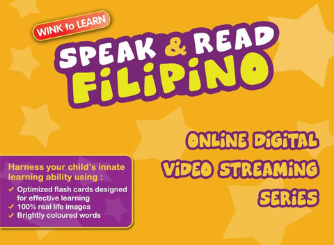 Speak & Read Filipino Online Digital Video Streaming Series