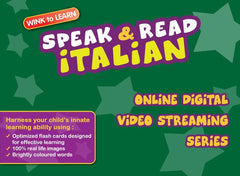 Speak & Read Italian Online Digital Video Streaming Series