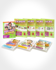 Learn Chinese Flash Cards & DVDs Value Bundle