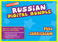 WINKtoLEARN Russian Online Digital Bundle - Complete (Streaming Videos & Digital Flashcards)