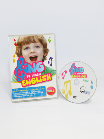 SING to LEARN English DVD (Vol. 1)