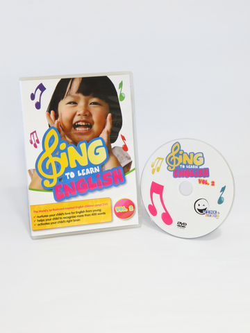 SING to LEARN English DVD (Vol. 2)