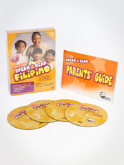 Speak & Read Filipino 4-DVDs Program