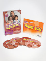Speak & Read German 4-DVDs Program