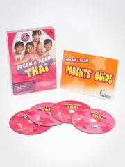 Speak & Read Thai 4-DVDs Program