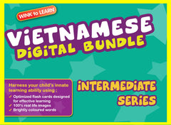 WINKtoLEARN Vietnamese Digital Bundle - Intermediate (Streaming Videos & Digital Flashcards)