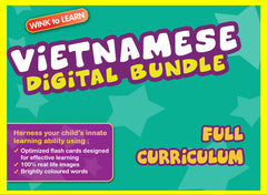 WINKtoLEARN Vietnamese Online Digital Bundle - Complete (Streaming Videos & Digital Flashcards)