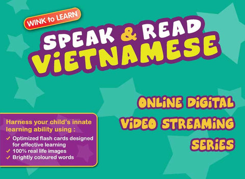 Speak & Read Vietnamese Online Digital Video Streaming Series