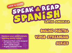 Speak & Read Spanish (Mexican) Online Digital Video Streaming Series