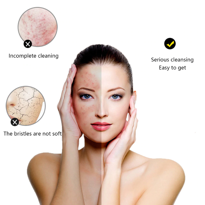 Ultrasonic Deep Pore Cleansing Face Brush