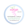 Peppermint Tingle Essential Oils Sugar Scrubs 2oz- Extra Oil