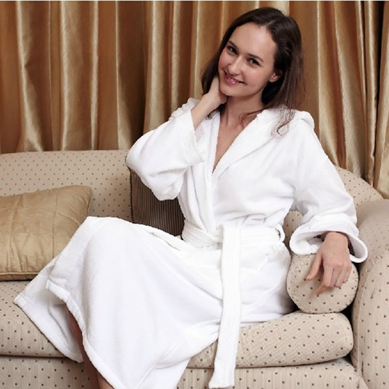 Athens Cotton Bath Robe