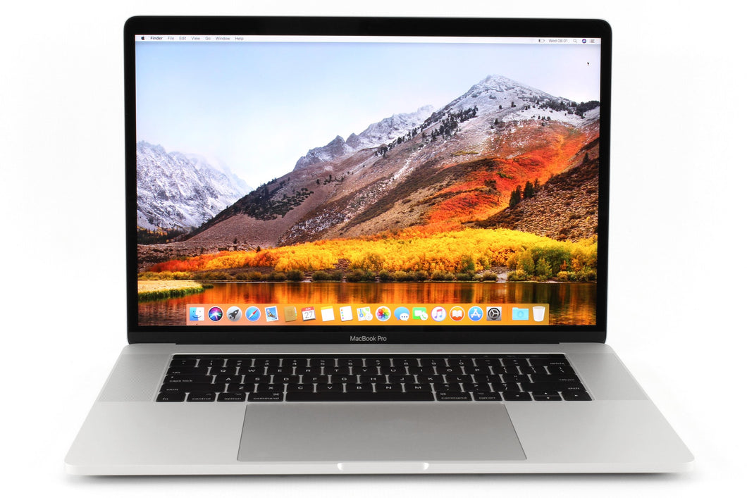 MacBook Pro 15 Retina Touch Bar  2.7GHz 16GB / 512GB Silver, Year: 2016 Refurbished, Grade A, Excellent Condition, 9/10!