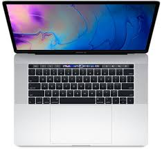 MacBook Pro 15  Retina Touch Bar 2.8GHz i7 16GB / 256GB - Silver- Refurbished, Year: 2017, Grade A, Excellent Condition, 9/10!