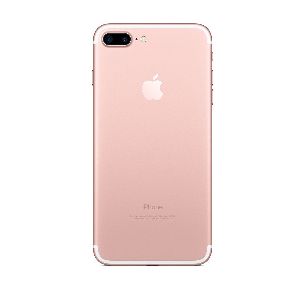 iPhone 7 Plus 128GB - Rose Gold - Refurbished, Grade A, Excellent Condition, 9/10!