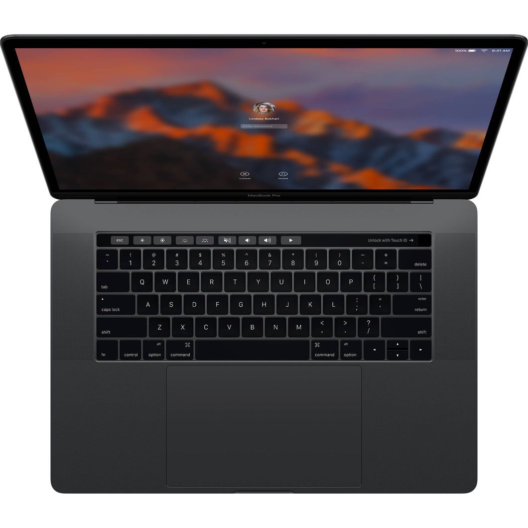 MacBook Pro 15 Retina Touch Bar  2.7GHz 16GB / 512GB Space Grey - Refurbished, Grade A, Excellent Condition, 9/10!