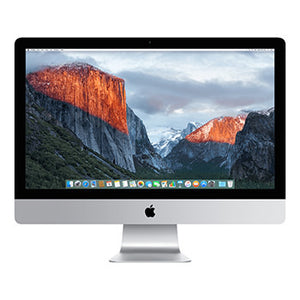 iMac 27 Retina 5K 3.5GHz QC i5 16GB / 1TB Fusion  - Refurbished, Year: 2014, Grade A, Excellent Condition, 9/10!