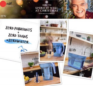 ZeroWater on Phillip Schofield's 'How To Spend it Well at Christmas'