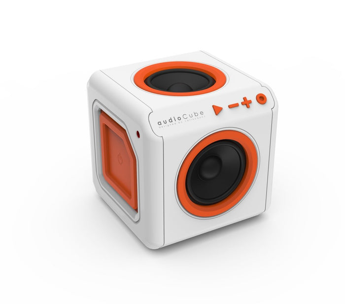 Allocacoc AudioCube Portable Bluetooth Speaker – Built-in Battery