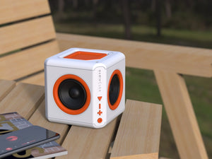 Allocacoc AudioCube Portable Bluetooth Speaker – Built-in Battery - 2tech ltd