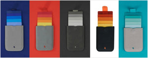 Allocacoc DAX Wallet V2 MicroFiber - a slim wallet with a trick up its sleeve (Multiple Colours) - 2tech ltd