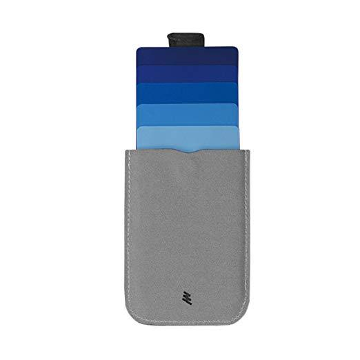 Allocacoc DAX Wallet V2 MicroFiber - a slim wallet with a trick up its sleeve (Multiple Colours)