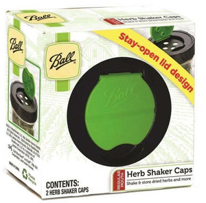 BALL MASON Herb Shaker Storage Caps Regular Mouth - 2tech ltd
