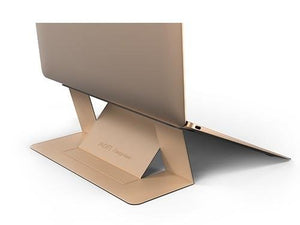 "DesignNest by Allocacoc Moft Laptop Stand - The Worlds first ""invisible"" Laptop Stand (Compatible with laptops up to 15.6"" ONLY) - 2tech ltd"