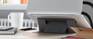 "DesignNest by Allocacoc Moft Laptop Stand - The Worlds first ""invisible"" Laptop Stand (Compatible with laptops up to 15.6"" ONLY)"