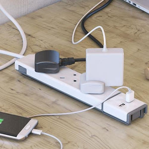 DesignNest by Allocacoc PowerStrip |Modular| UK - Create your own extension solution - 2tech ltd