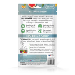 FreshPaper Food Saver Sheets Value Twin-Pack - 2tech ltd