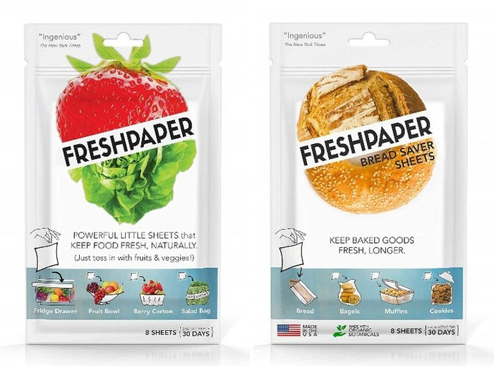 FreshPaper Food Saver Sheets Value Twin-Pack