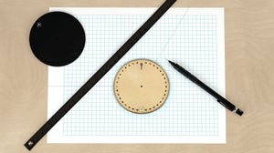 ILoveHandles Leather Wrist Ruler - 2tech ltd