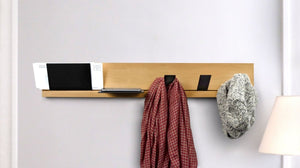 Keep Track Coat Rack & Shelving System - 2tech ltd