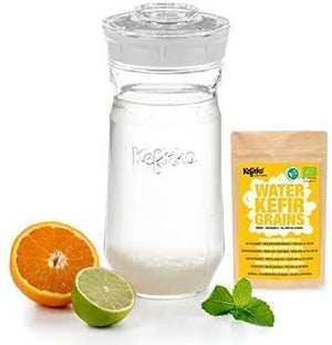 Kefirko Water KEFIR Kit 1400ml with Organic Grains - 2tech ltd