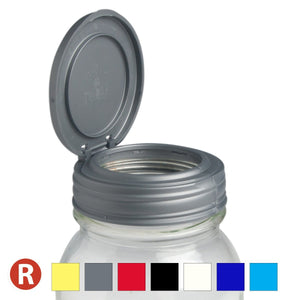 reCAP FLIP Regular Mason Jar Lid - 2tech ltd