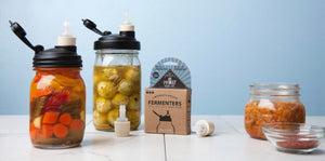 ReCAP Mason Jars Fermenting Starter Kit Offer - 2tech ltd