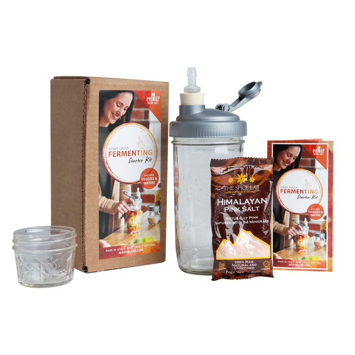 ReCAP Mason Jars Fermenting Starter Kit Offer
