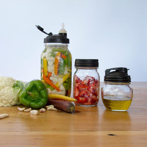 ReCAP Mason Jars The Art of Aperitivo: Italian Happy Hour Fermenting Gift Set - 2tech ltd