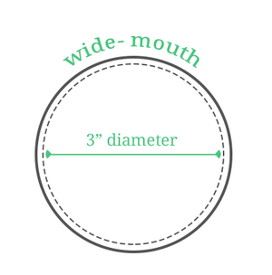 reCAP POUR Mason Jar Lid, Wide Mouth - 2tech ltd