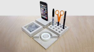 Slabs modular, low-lying desk accessories - 2tech ltd