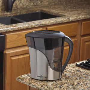 STAINLESS STEEL FINISH 11 CUP / 2.5L JUG - 2tech ltd