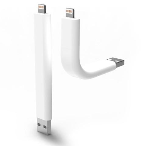 Trunk Flexible Charging Cable for Apple & Android Mobile Phones