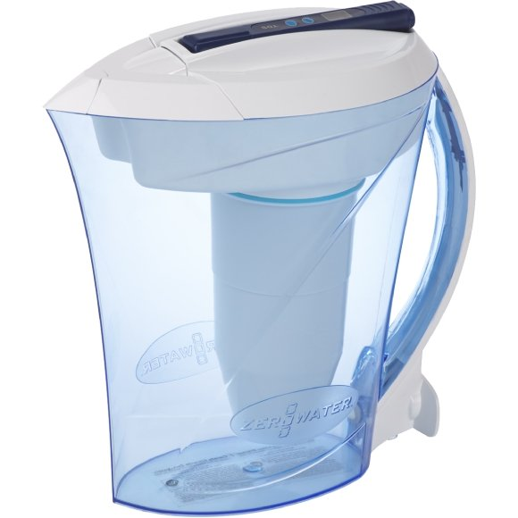 ZeroWater 10 Cup/ 2.35 ltr Ready Pour Water Filtration Pitcher with Free Digital TDS Meter