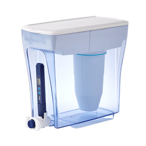 ZeroWater 20 Cup Water Filter Jug./ 4.7L Dispenser - 2tech ltd